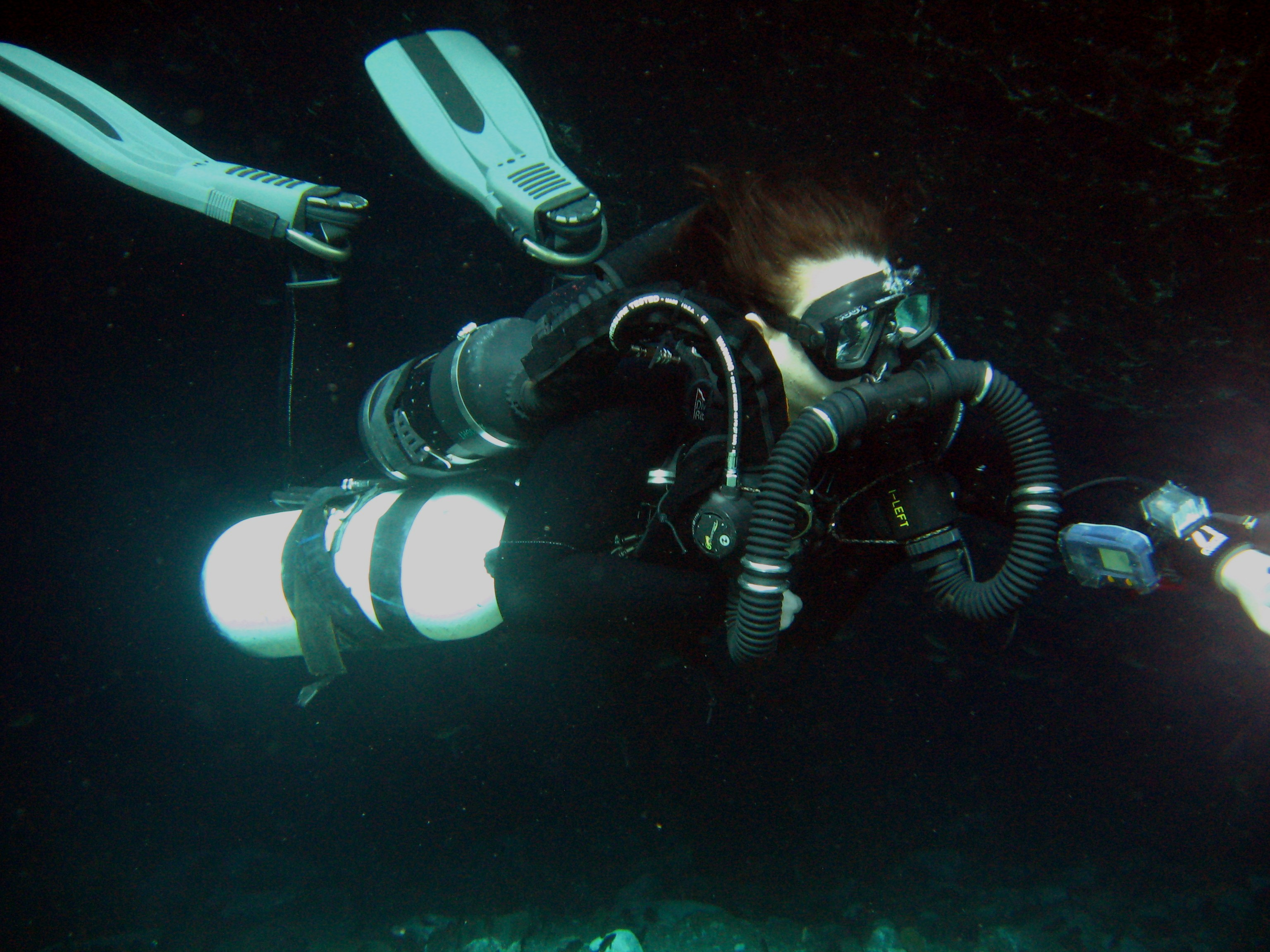 Kiss Gem Pscr Diver 70000 Chipola Divers Sidemount Gas Circuit Of A Passive Addition Semiclosed Rebreather Larger Image